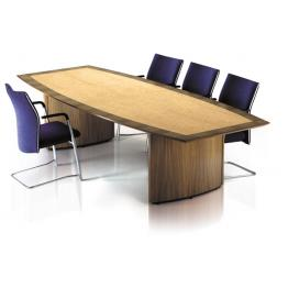 Aerofoil Base Veneer Boardroom Tables