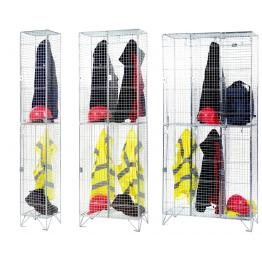 Mesh Locker Storage