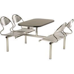 Flight Steel Frame Modular Canteen Furniture