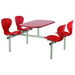 Ergo Polyurethane Seat Modular Canteen Furniture