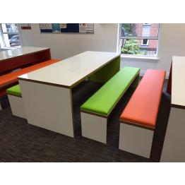 25mm Laminate Top Panel End Bench Tables and Benches