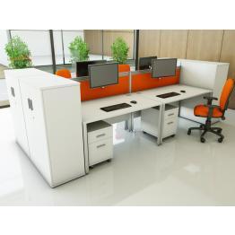 Janus White Office Furniture