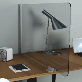 Protective Desk Mounted Screens - Covid 19 - Corona Virus Safe Screens