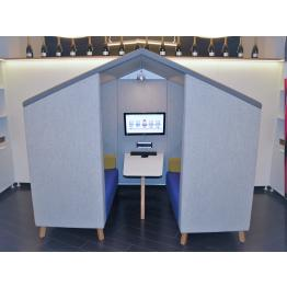 Jensen Hut Pod Seating Range