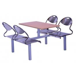 Flight Steel Frame Modular Canteen Furniture