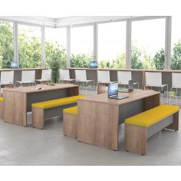 25mm MFC Panel End Bench Tables and Benches