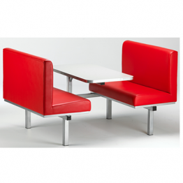 American Style Booth Canteen Furniture
