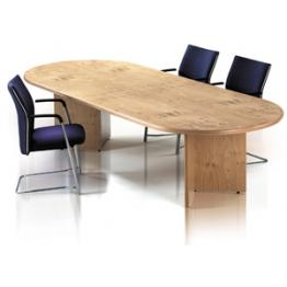 Arrowhead Base Veneer Boardroom Tables