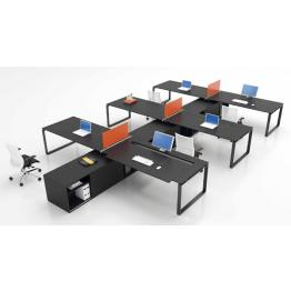 black office furniture desks with storage