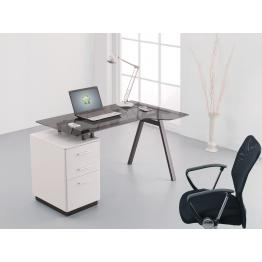 Premium Glass Desks & Workstations