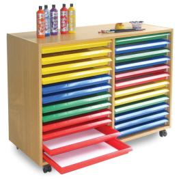 School & Educational Art Storage Solutions