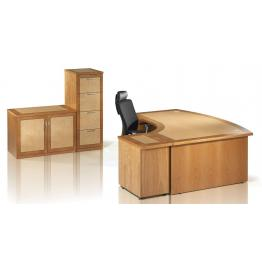 Cathedral Executive Range - 38mm Tops with 20mm Solid Wood Lippings