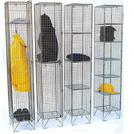 Elite Mesh Lockers