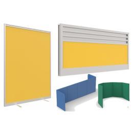BT - Sirius Office Screens - Desk & Freestanding