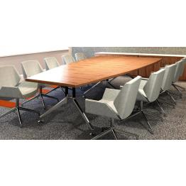 A Line Frame Veneer Boardroom Tables