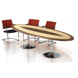 Trumpet Base Veneer Boardroom Tables
