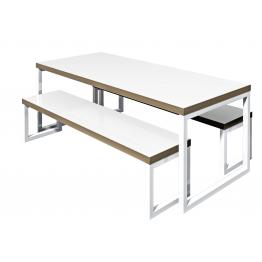 School Bench Seating and Tables