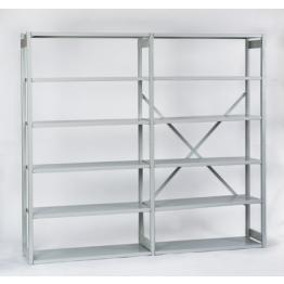 Steel racking, Shelving