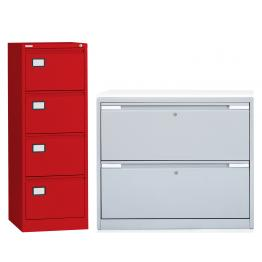Steel Filing Cabinets and Side Filers