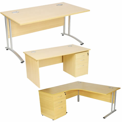 Part of the Aurora Office Desks range