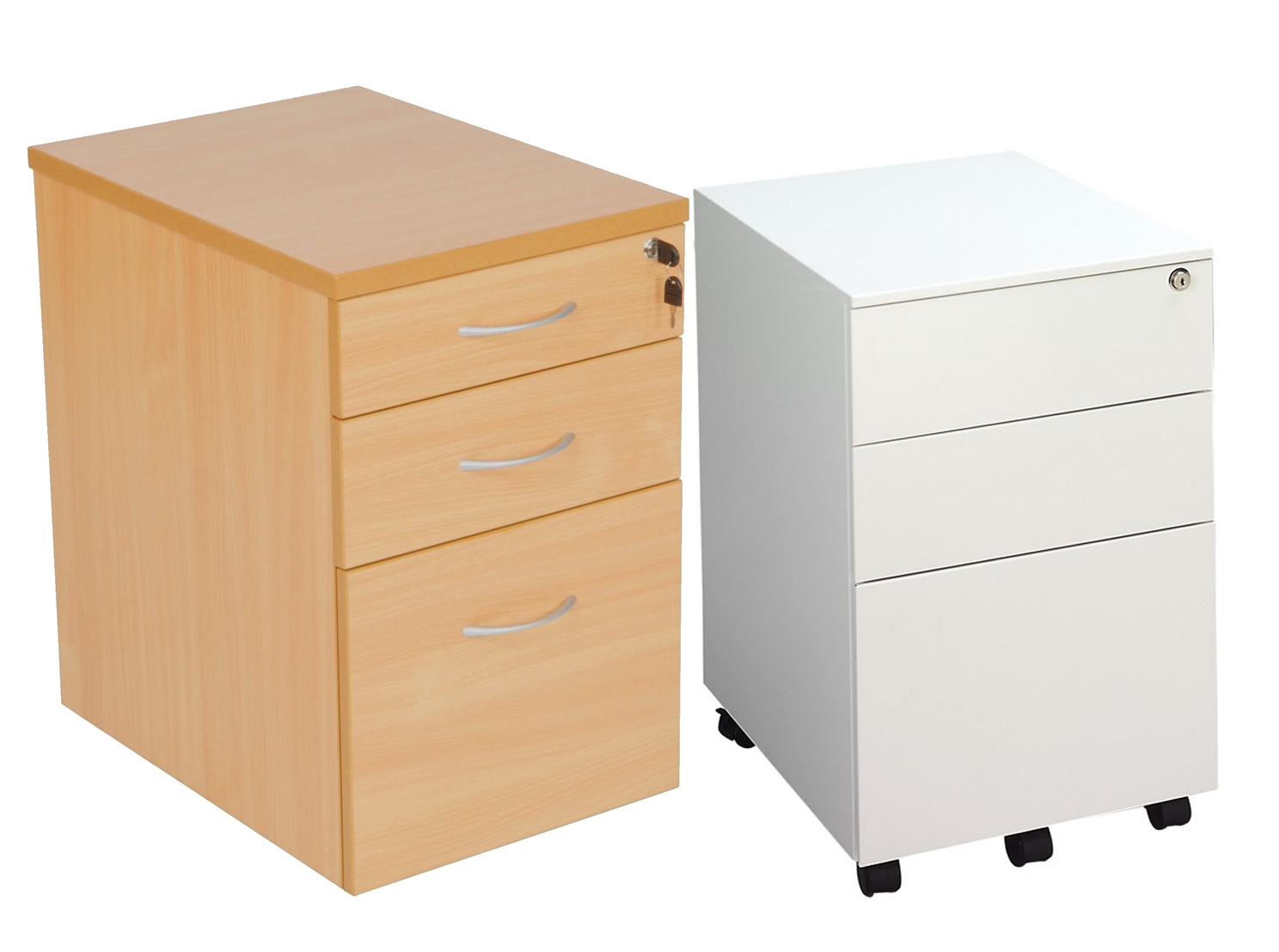 Part of the Aurora Office Desk Pedestals range