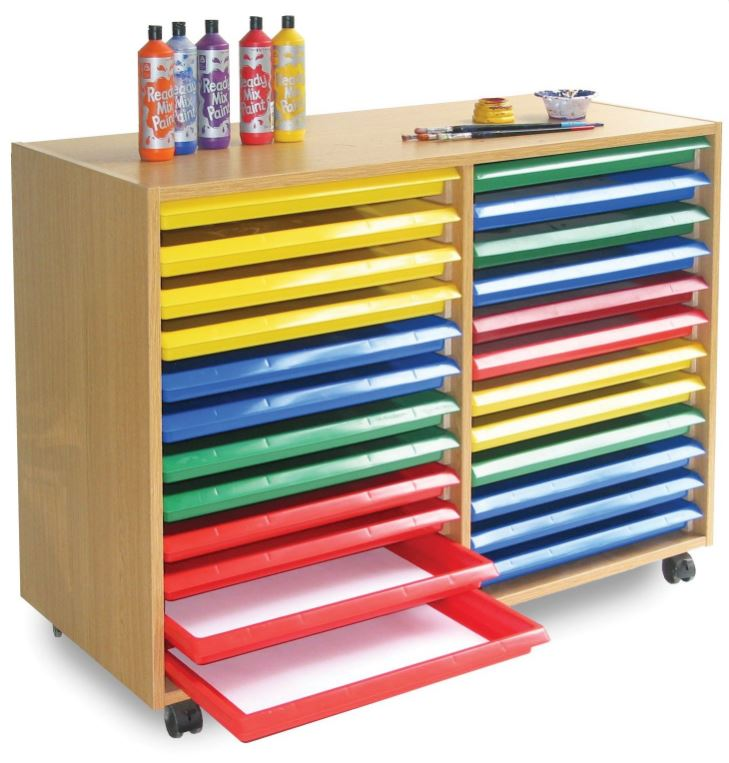 Part of the School & Educational Art Storage Solutions  range