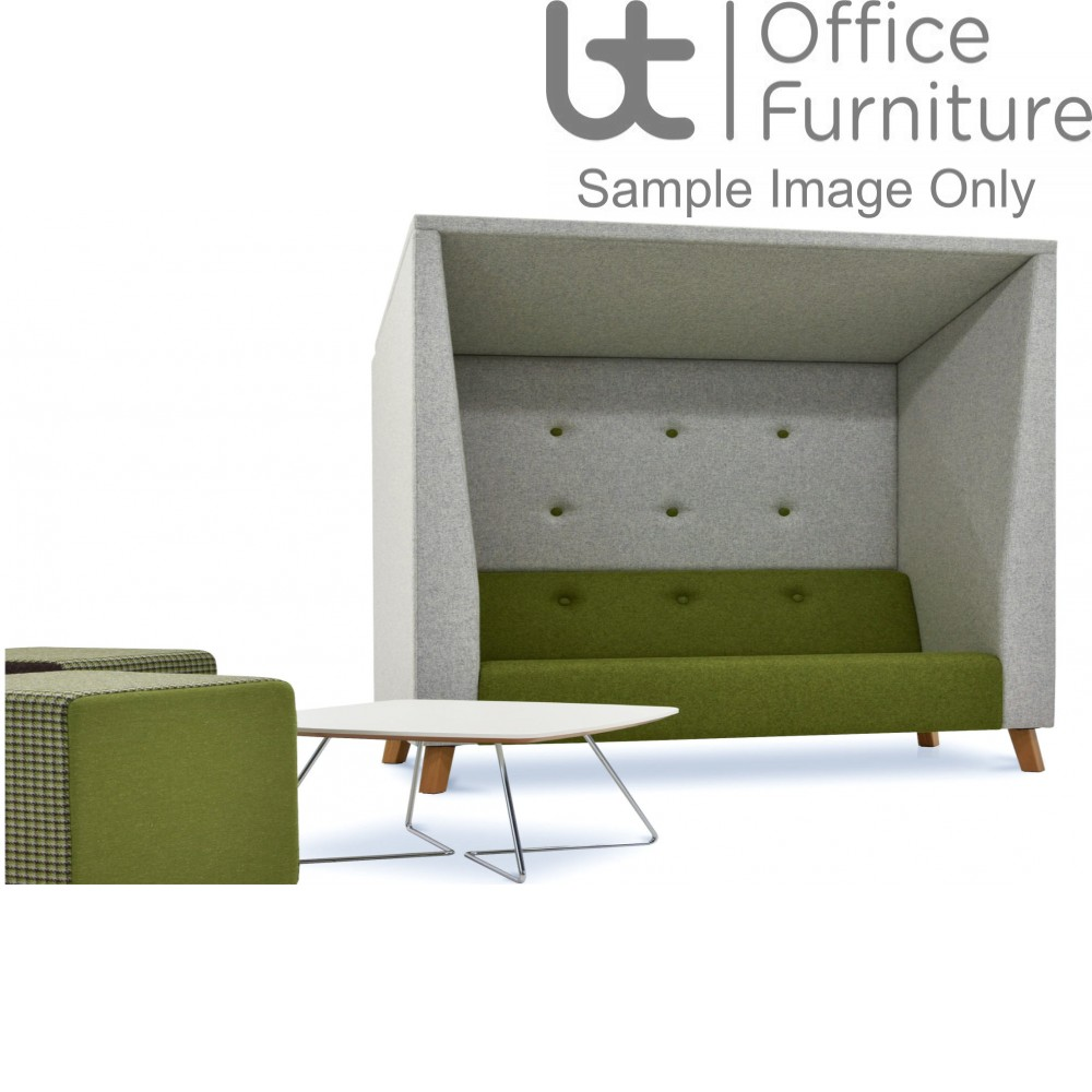 Verco Pod/Booth - Jensen Shelter Three Person Soft Seating Unit