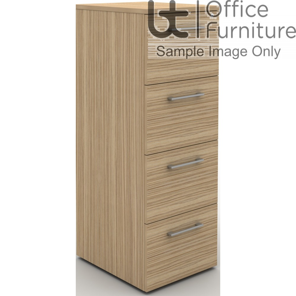 MB Storage Solutions -  4 Drawer Filing Cabinet with Carcass in matching finish