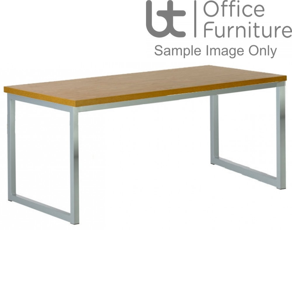 City 40/40 Robust 40mm Laminate Top School Bench Dining Table W2200mm (Std Frame Colours)