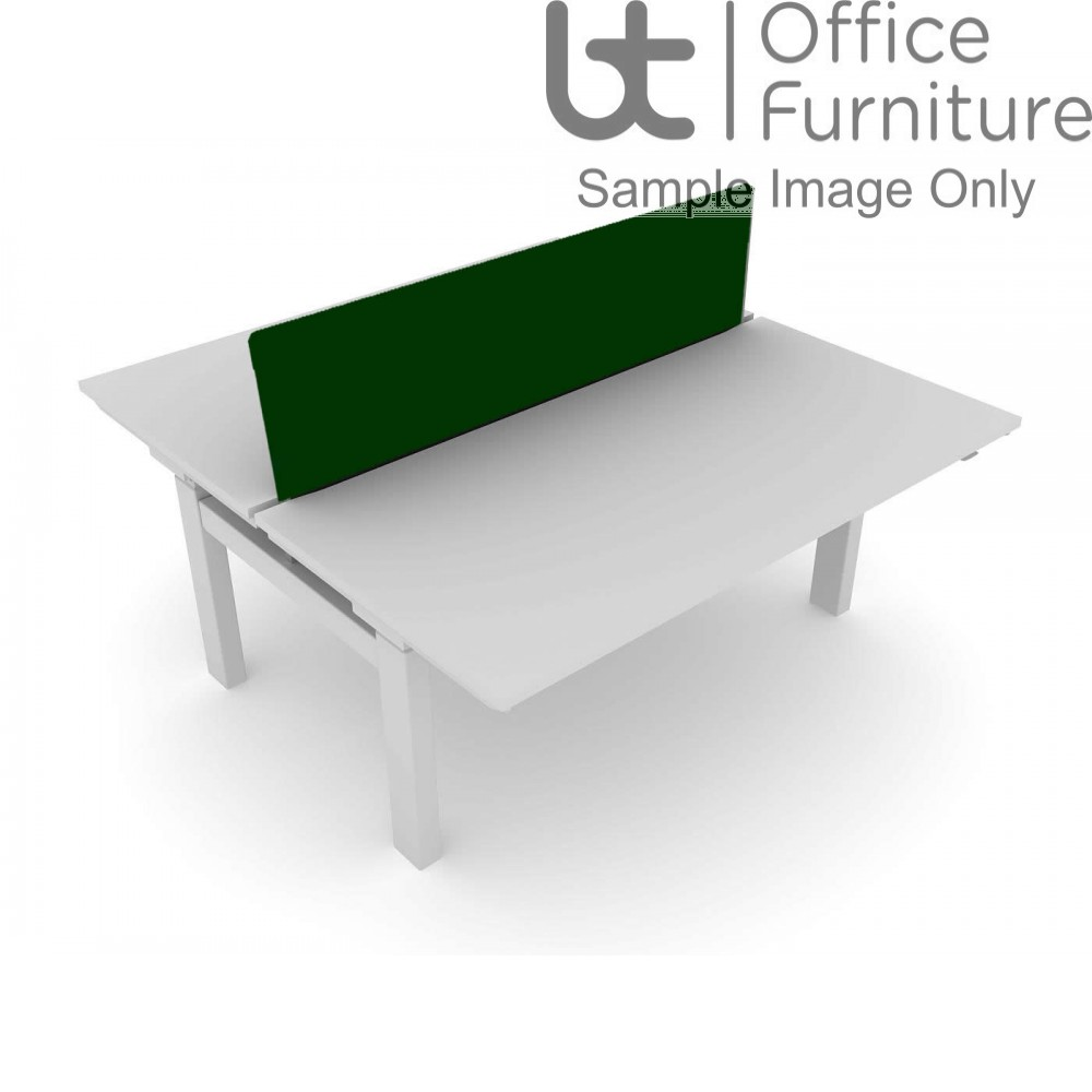 Elite Progress Screen - Fabric Acoustic System Screen For Double Bench Desk