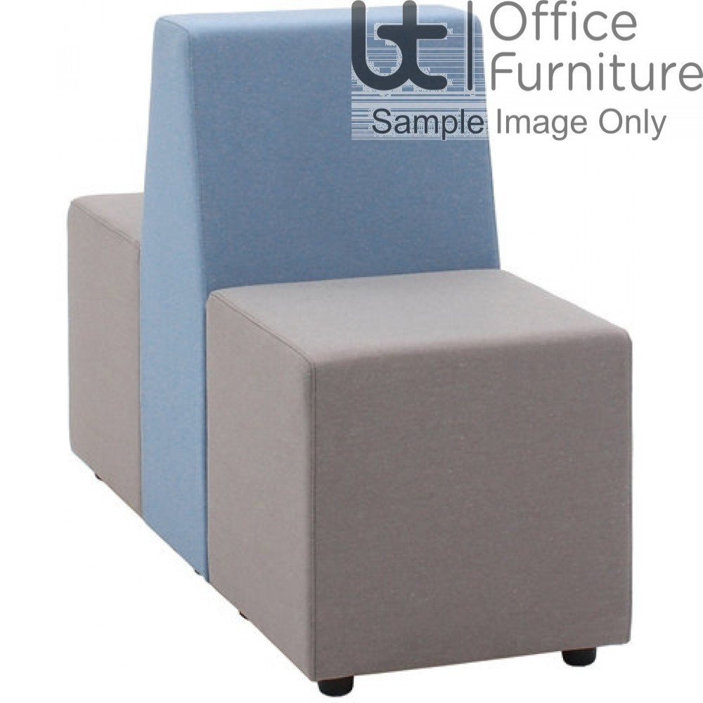 Verco Soft Seating - Box-It Landscape Two Single Units with a Double Back