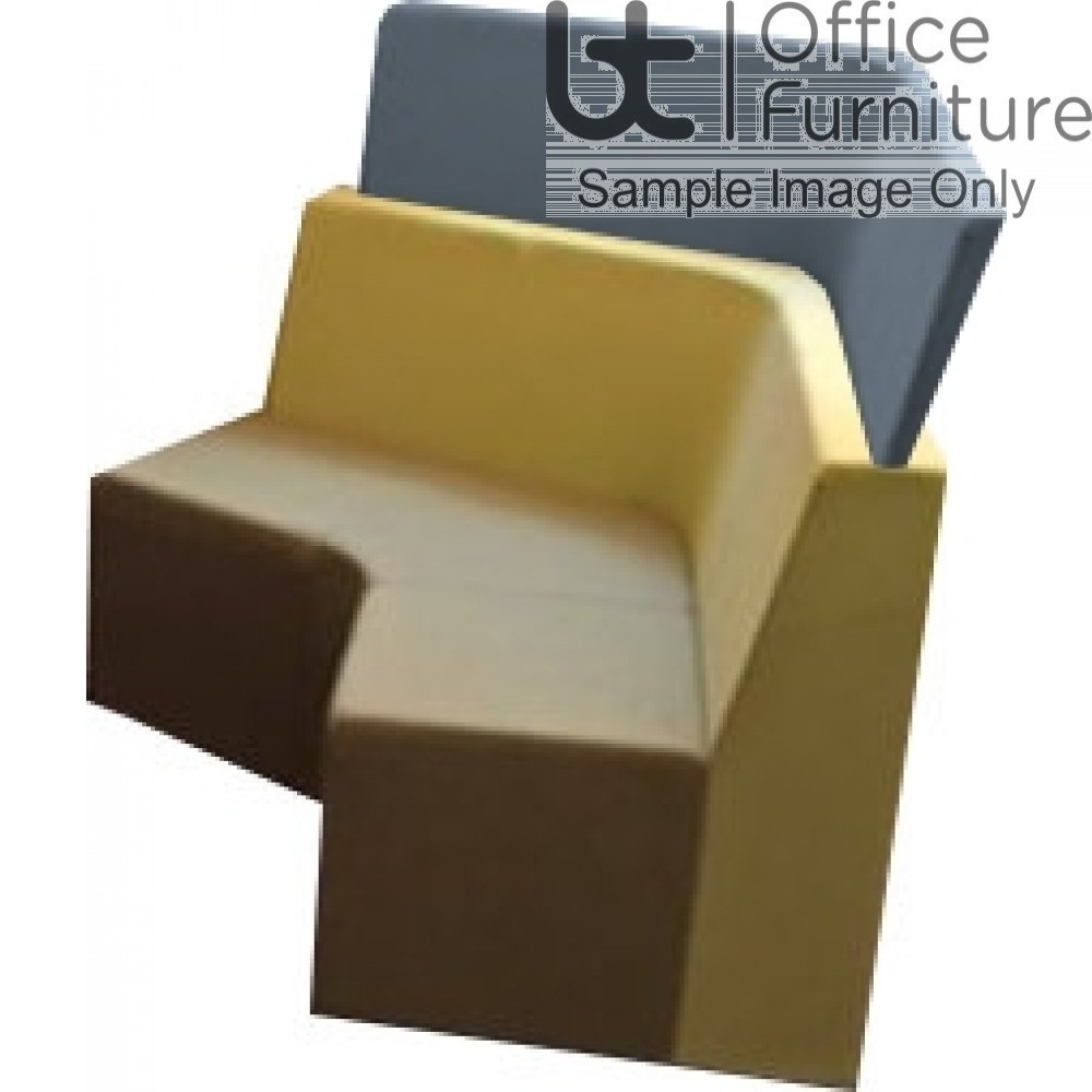 Verco Soft Seating - Box-It Landscape High Screen for for 120 Degree Unit