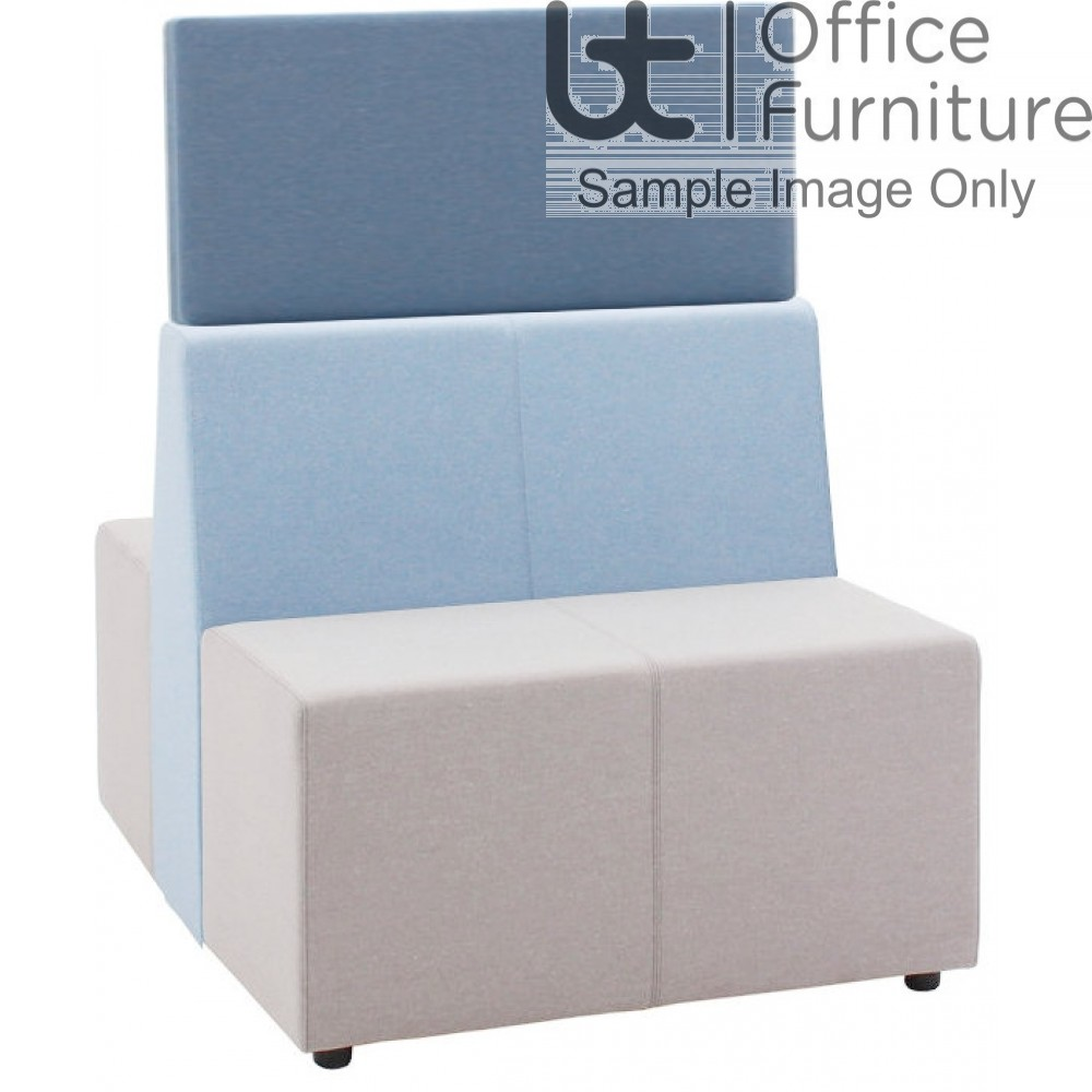 Verco Soft Seating - Box-It Landscape High Screen for Double Seat