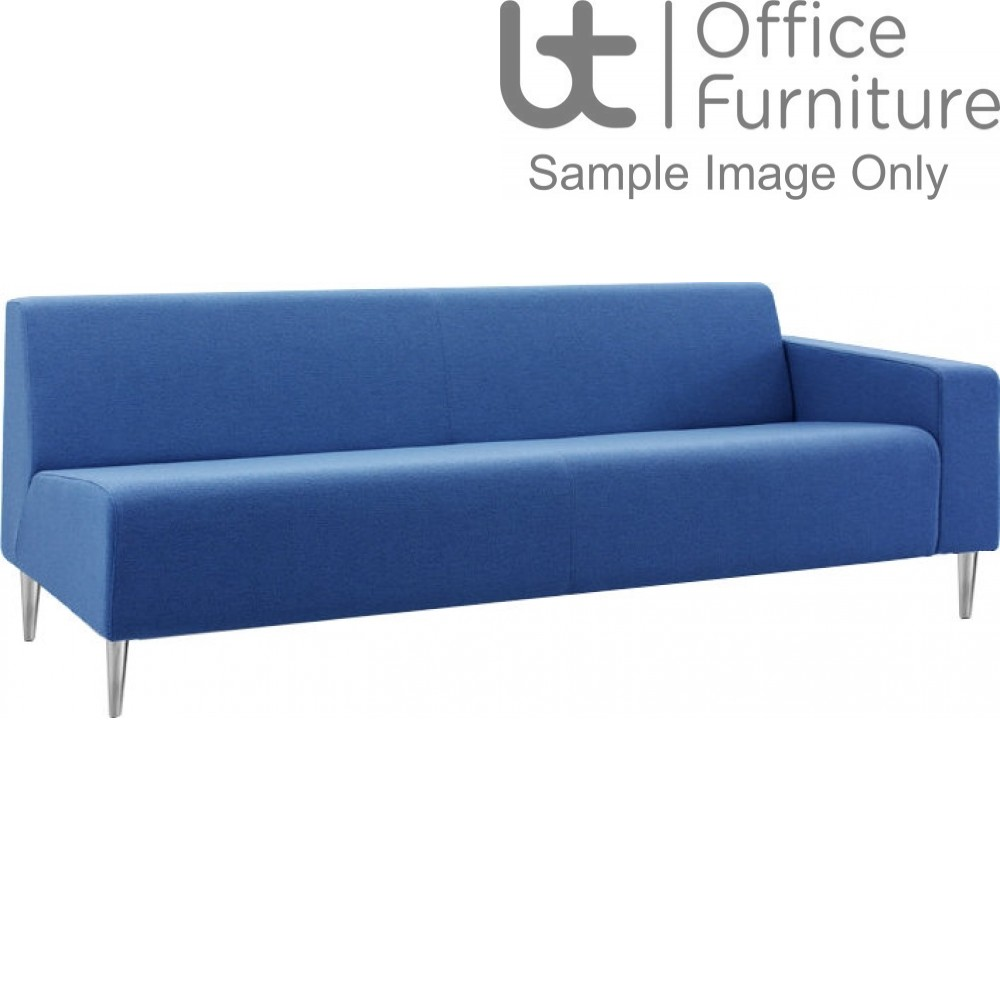 Verco Soft Seating - Bradley Three Seater Couch with a Right Hand Facing Arm