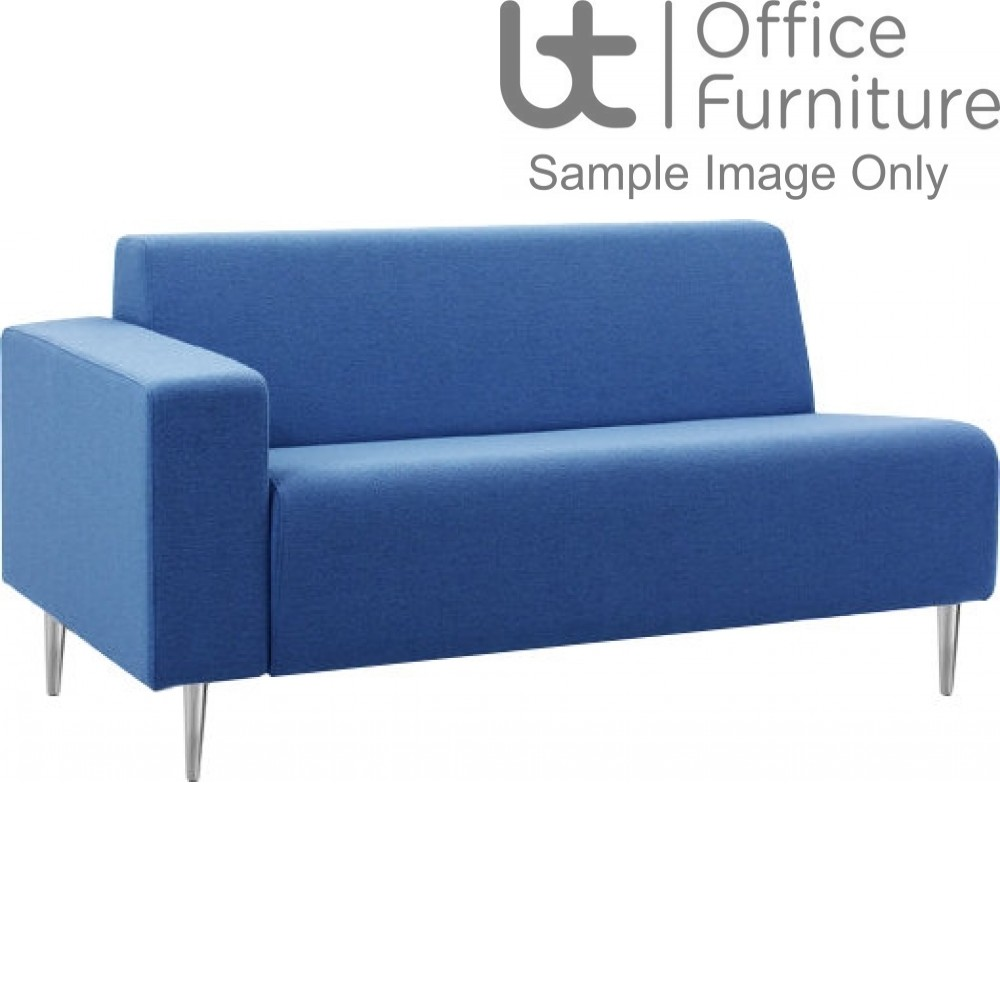 Verco Soft Seating - Bradley Two Seater Couch with a Left Hand Facing Arm