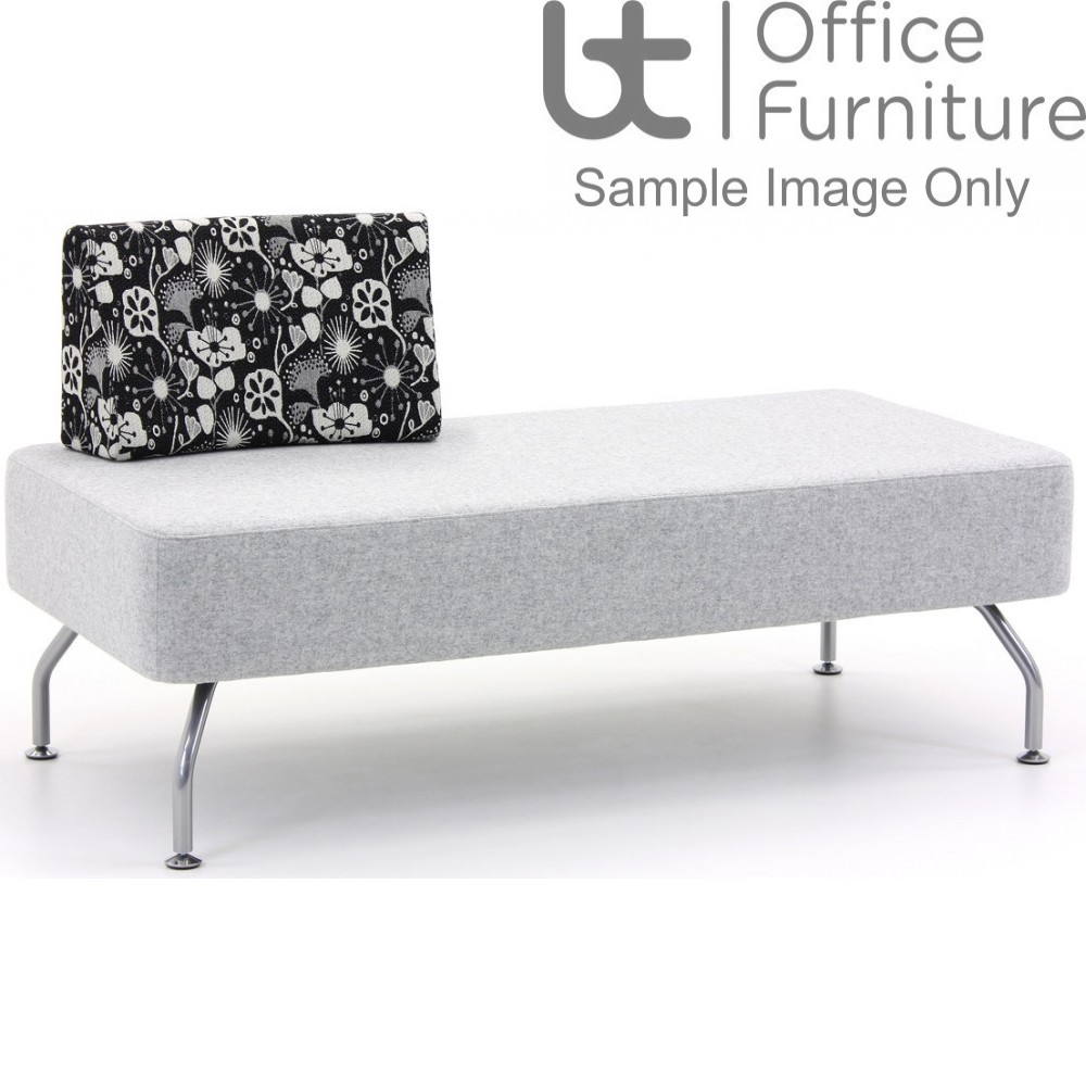 Verco Soft Seating - Brix Two Seater Unit with a Single Back (A)