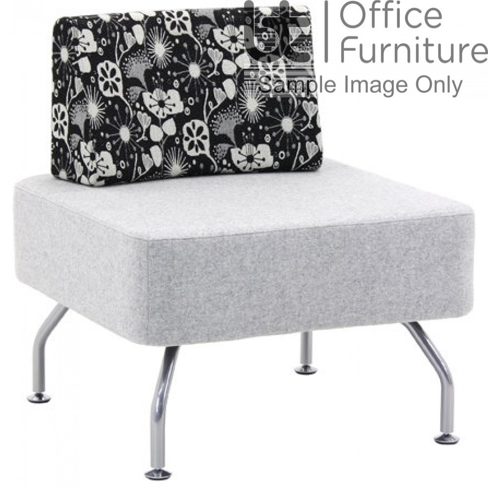 Verco Soft Seating - Brix Single Unit With a Single Back