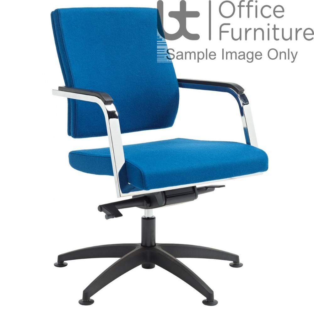 Verco Executive seating - Vibe Show Wood Medium Conference Chair with Arms