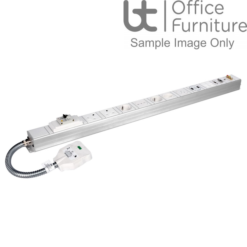 Under Desk Cable Management - (PRICE ON REQUESTS) Conti Under Desk Power and Data Modules