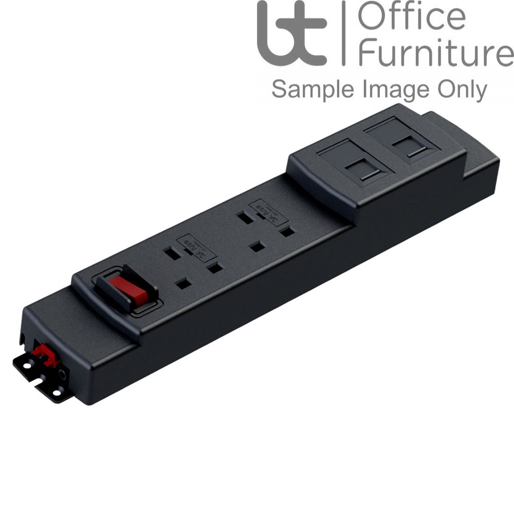 Elite+ 2 x power, 3.15A fuses, east/west facing sockets