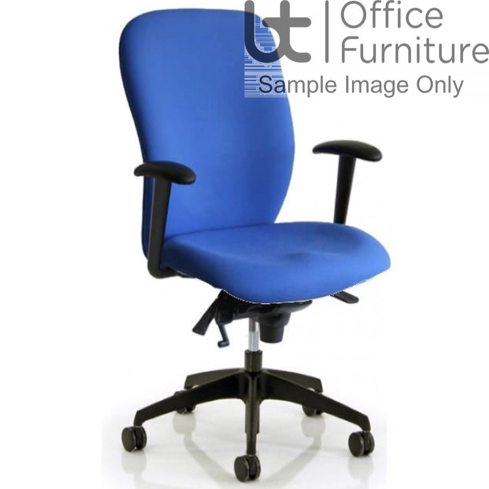 Verco Operator/Task Chair - Ergoform 1 High Back Task Chair with Arms