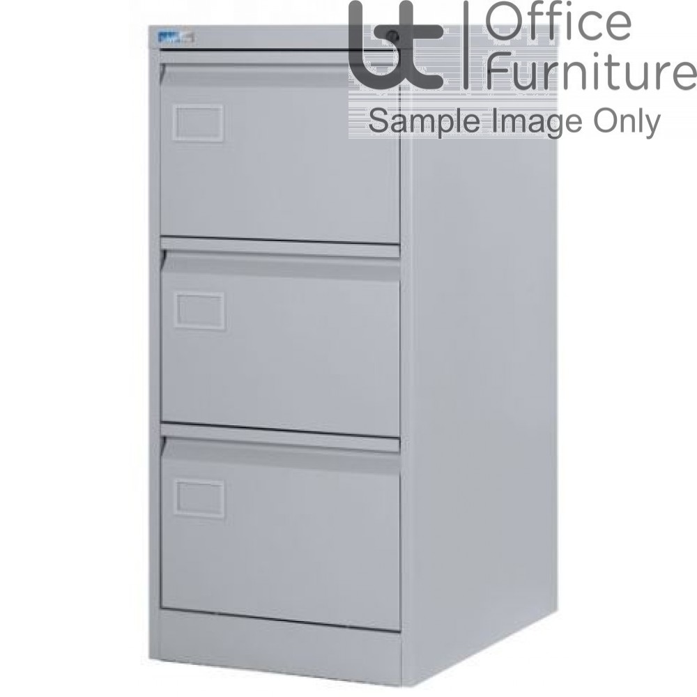 Silverline Executive 3 Drawer Filing Cabinet
