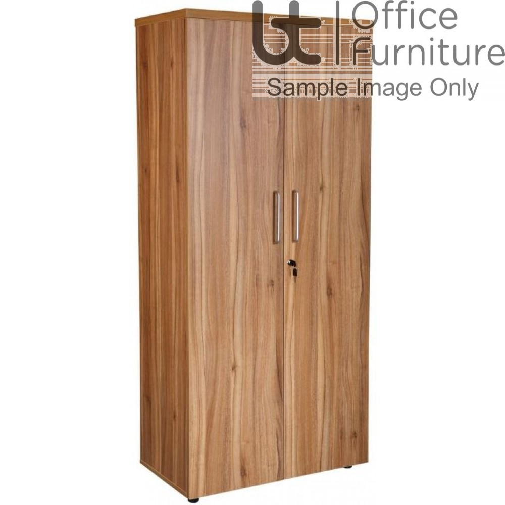 Aurora Executive Black Walnut Cupboard Complete with 4 Shelves