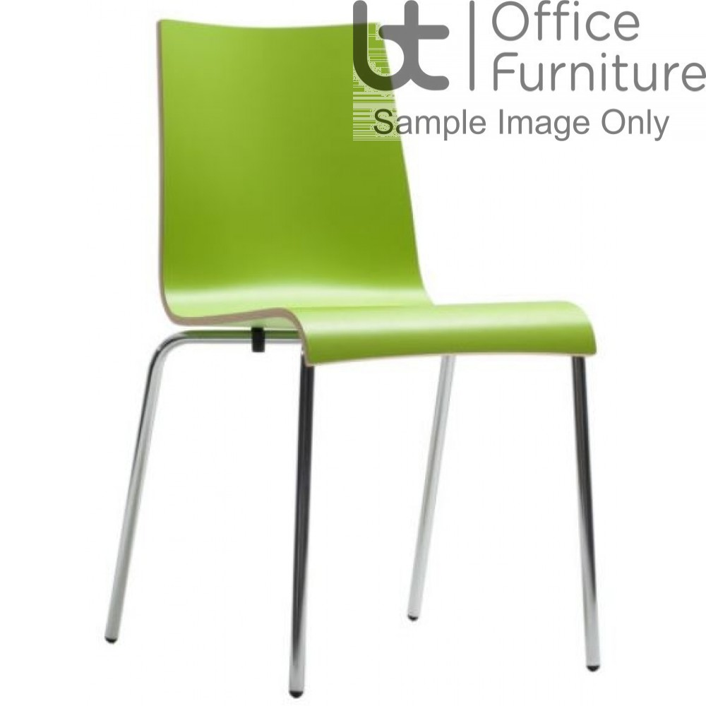 Plyform Dining Chairs (Multicoloured)