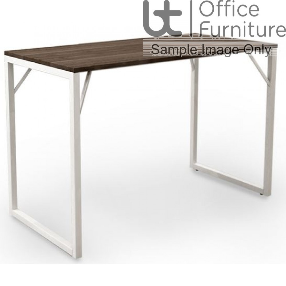 Robust Block Steel Frame High Bench Dining Table W1400 x D800 x H1100mm