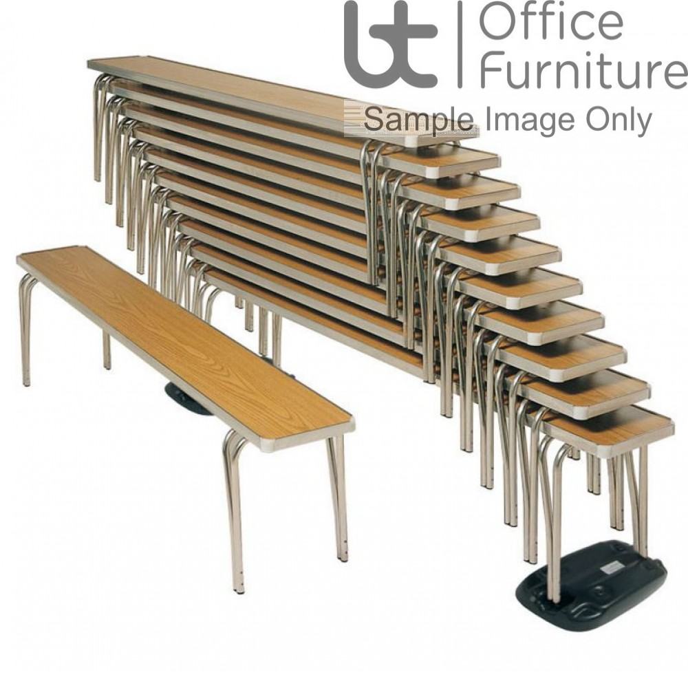 Economy Dining/Cafeteria/Canteen Stacking Benches