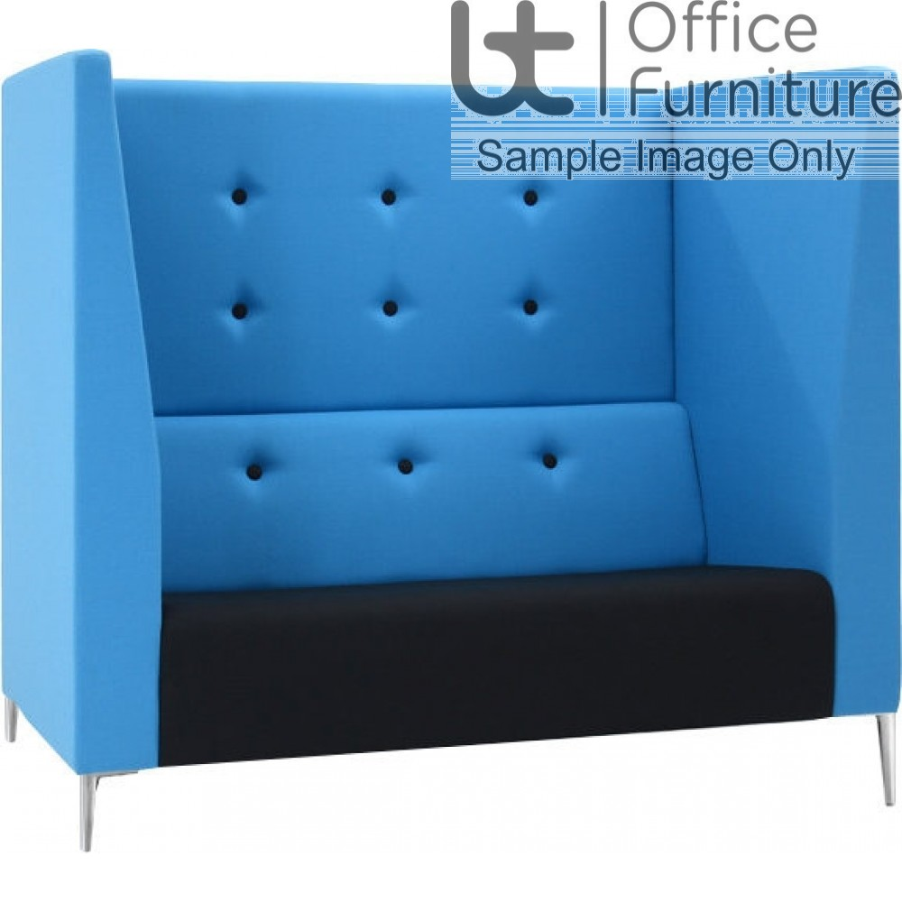 Verco Pod/Booth - Jensen-Up Two Seater Sofa with High Acoustic Surround