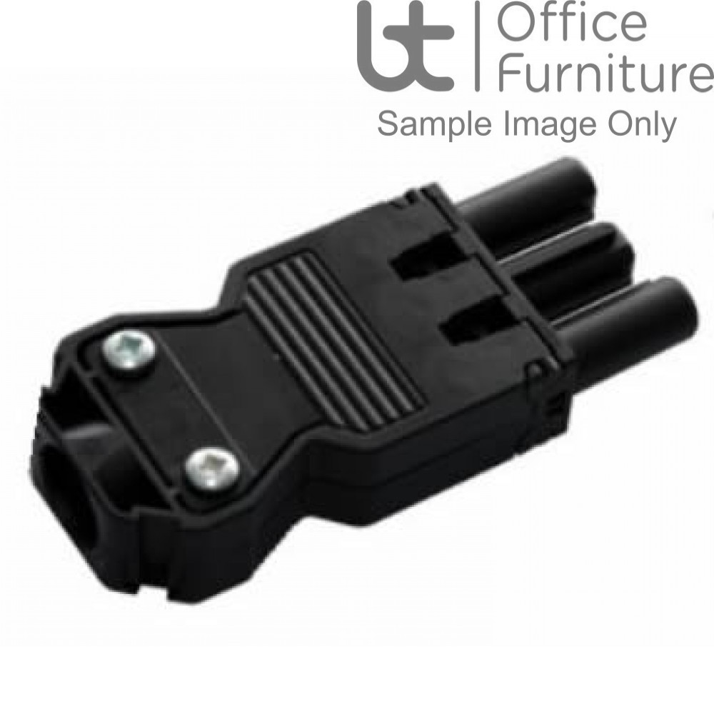 Cable Accessories - Male GST 3-pole self fit connector (Pack of 10)