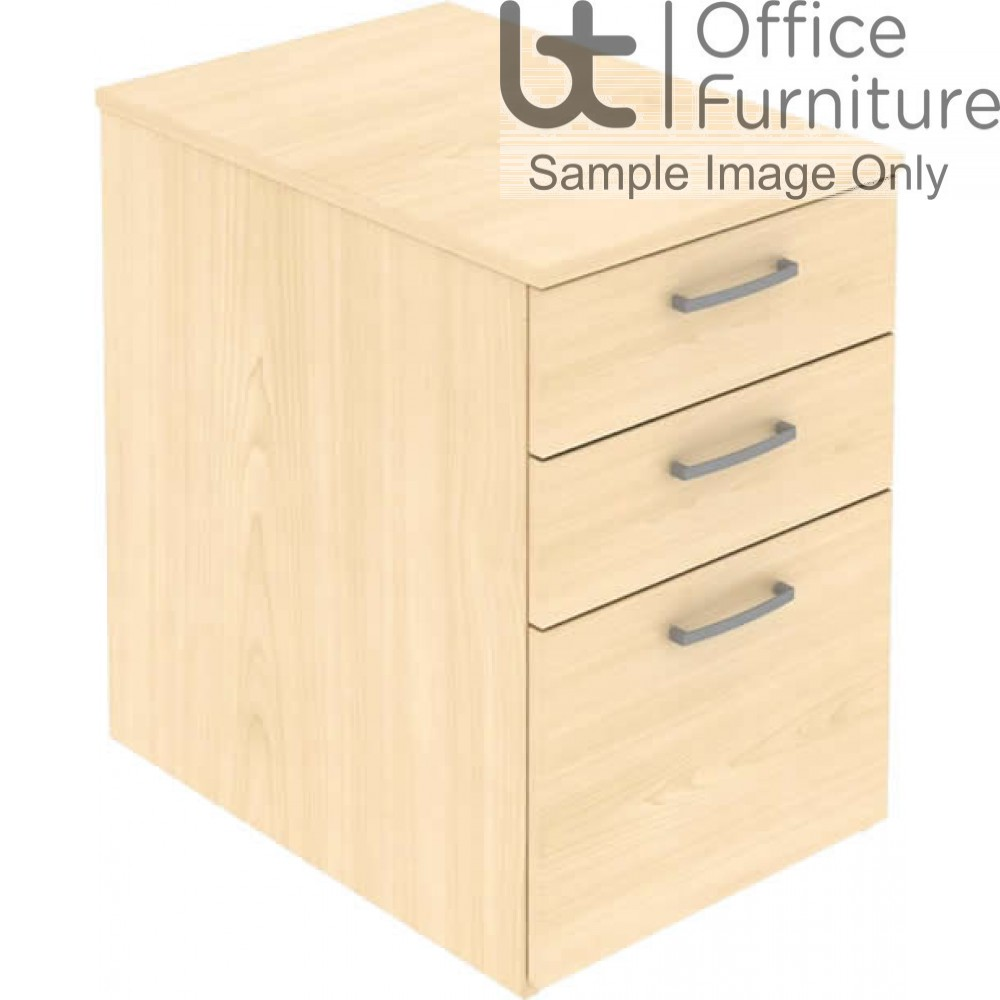 Elite Mobile Pedestals & Personal Storage With 3 Drawers