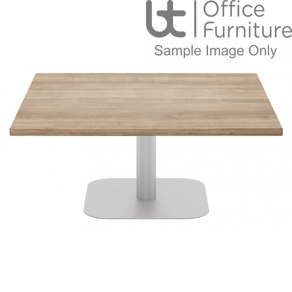 Elite Coffee Tables - Square with Steel Base